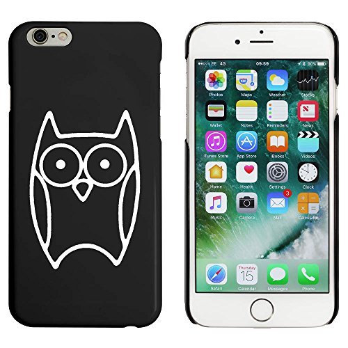 Schwarz 'Niedliche Eule' Hülle für iPhone 6 u. 6s (MC00088426)