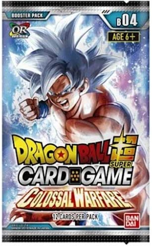 Asmodee BCLDBBO7832 Dragon Ball Super CG: Booster Pack B04 Colosal ...