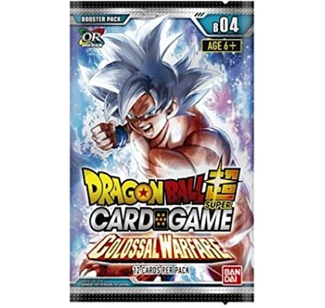Asmodee BCLDBBO7832 Dragon Ball Super CG: Booster Pack B04 Colosal Warfare, multicolor, el embalaje puede variar , color/modelo surtido: Amazon.es: Juguetes y juegos