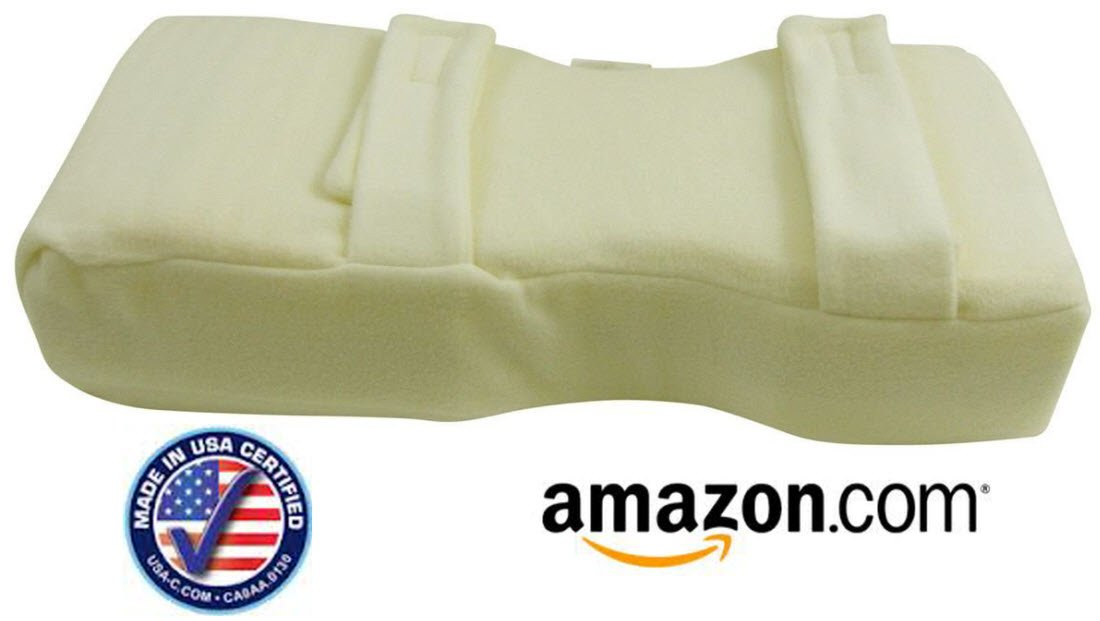 Knee Pillow for Sleeping | Knee-''t'' PRO Large for up to 6'4'' and 180 Lb+ | Back Pain Relief, Sciatica, Hip Pain | Designed By Doctors for Patients | Best Side Sleeper Pillow - Made in USA | 10 Yr Warranty | Hypoallergenic Certified Hr & Memory Foam.