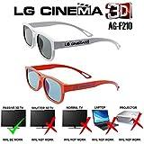LG AG-F210 2 Type Circular Polarized Passive 3D Tv Glasses for Lg / Aoc/ Benq / View Sonic