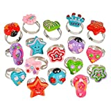 0.5'' GLITTER RING (72PC/UN), Case of 6