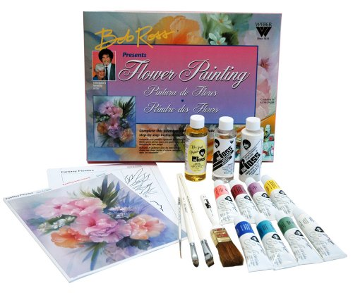 Bob Ross R6470 Floral Painting (Floral Scrapbooking Kit)