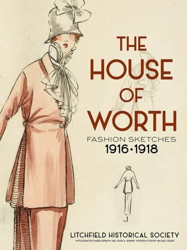 [The House of Worth: Fashion Sketches, 1916-1918] (1910 Costumes)