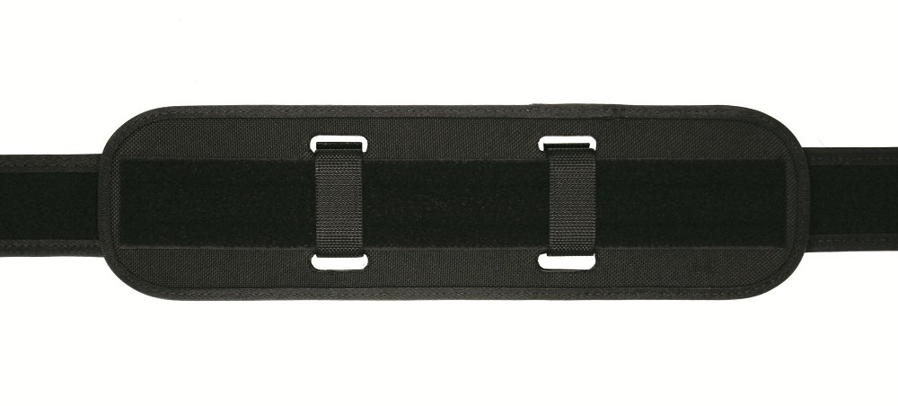 TUFF Duty Back Support with Extended Keepers (2 Extended Black Nylon Keepers, W ks with All Duty Belts) by TUFF