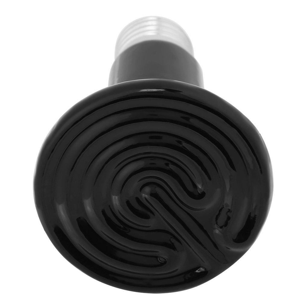 Infrarot Keramik Emitter Keine Gl/ühbirne f/ür Reptilien Amphibien V/ögel Gefl/ügel H/ühnerstall Hamster Schlangen Lebensr/äume 220-230V