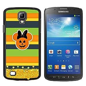 Caucho caso de Shell duro de la cubierta de accesorios de protección BY RAYDREAMMM - Samsung Galaxy S4 Active i9295 - Calabaza Otoño de Oro