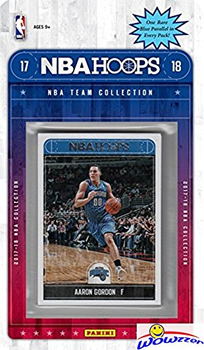 fan products of Orlando Magic 2017/18 Panini Hoops NBA Basketball EXCLUSIVE Factory Sealed Limited Edition 13 Card Team Set with Marreese Speights, Aaron Afflalo & Many More! Shipped in Bubble Mailer! WOWZZER!