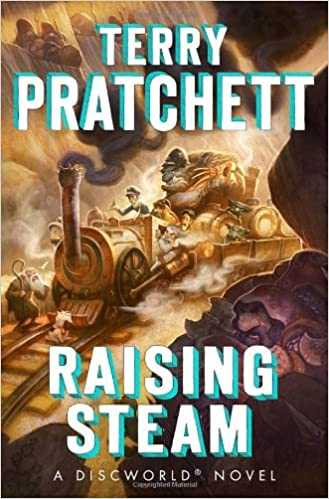 Bildresultat för raising steam terry pratchett