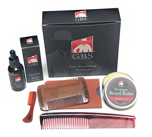 GBS Sandalwood Beard Grooming Kit