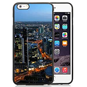 Australia melbourne cityscapes Silicone TPU iPhone 6plus 5.5 Inch Protective Phone Case