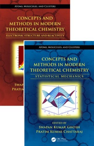 Concepts and Methods in Modern Theoretical Chemistry, Two Volume Set (Atoms, Molecules, and Clusters)