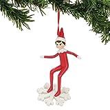 Department 56 Elf on the Shelf Snowboarding Hanging Ornament