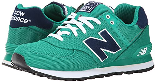 888546365933 - New Balance Men's ML574 Pique Polo Pack Classic Running Shoe, Green, 7 D US carousel main 5