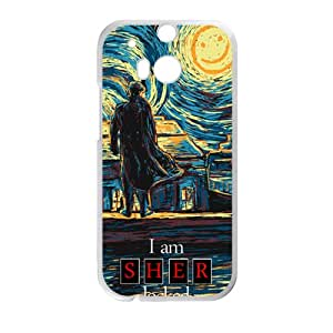 JIANADA Starry Fall (Sherlock) Cell Phone Case for HTC One M8