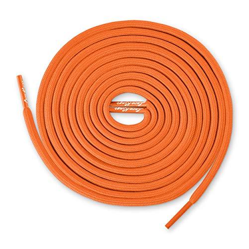 Lace Kings Round Shoelaces (Orange - -