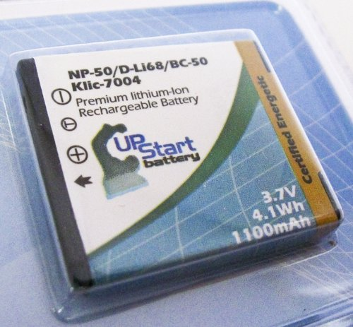 Fujifilm FinePix F850EXR Battery - Replacement for Fujifilm NP-50 Digital Camera Battery (1100mAh, 3.7V, Lithium-Ion)