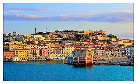 Italia Casas Costa Toscana Portoferraio ciudades muebles ...