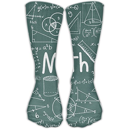 Math Theory Mathematical Formula Equation Stretchy Novelty High Athletic Sock Outdoor ()