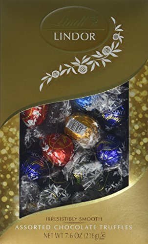 Lindor Chocolate Sampler Box, 8 Count