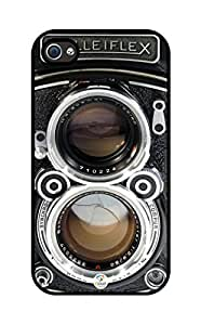 iZERCASE Rolleiflex rubber iphone 4 case - Fits iphone 4 & iphone 4s