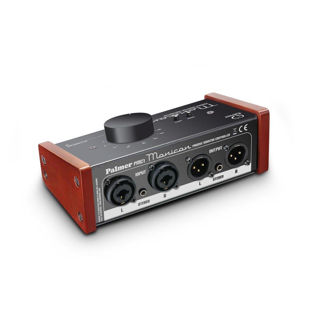 Palmer - Pmonicon control de volumen pasivo para monitores de estudio.: Amazon.es: Instrumentos musicales
