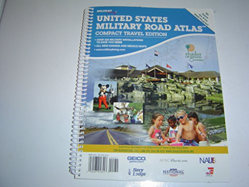 United States Military Road Atlas Compact Tavel Edition
