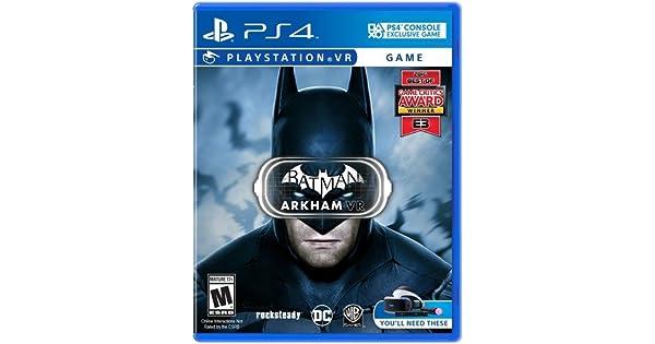 Amazon.com  Batman  Arkham VR - PlayStation VR  Video Games 3d5f815ca8