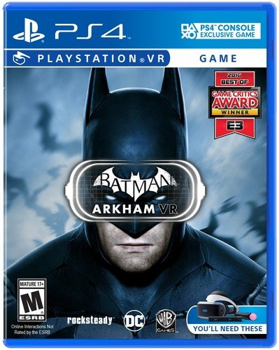 Batman Arkham VR PlayStation 4 product image