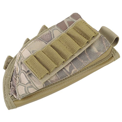 AIRSSON Tactical Buttstock Butt Stock Holder Ammo Pouch M...