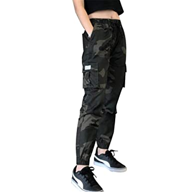 Tasty Life Pantalones De Camuflaje para Mujer, Pantalones De ...