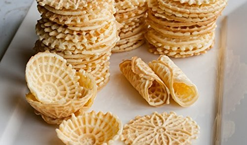 Cucinapro Polished Pizzelle Maker 220 05p Easy To Use Makes Great