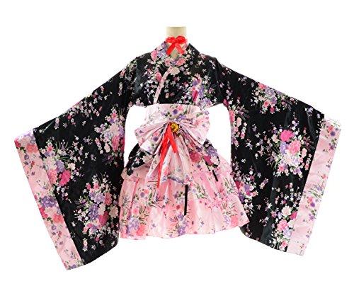 [BS Japan Anime Uniforms [Plus size Kimono Dress] 1X-5X (14-32) (5X (30~32))] (Naruto Cosplay Costumes Amazon)