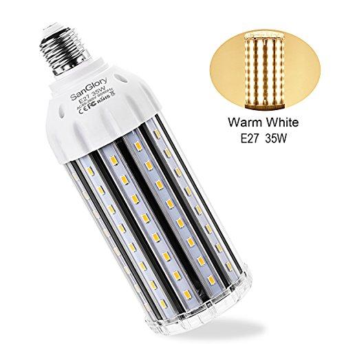 Sanglory Led Maïs E27 35w Lampe Blanc Chaud Ampoule Puissante N0w8vmn