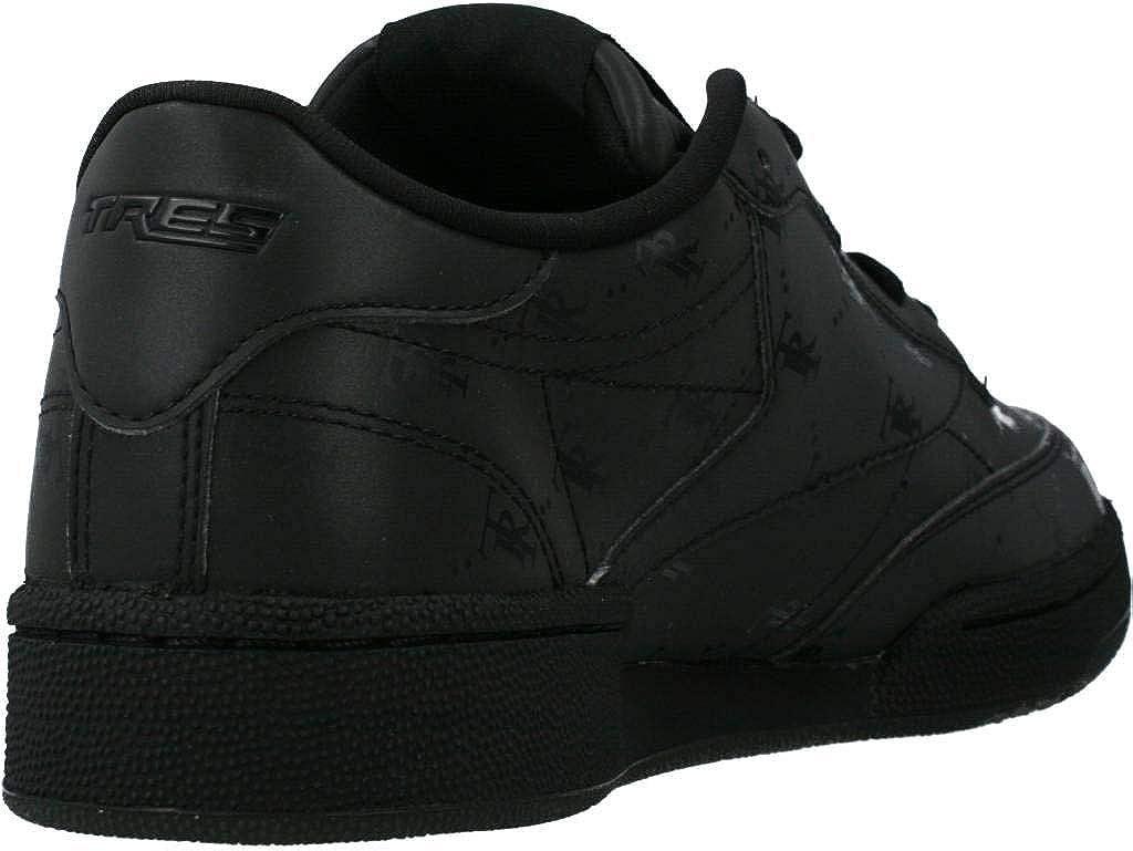 Reebok Herren Sportschuhe Club C85 Schwarz Black