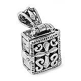 Cross Prayer Box Pendant .925 Sterling Silver Book - Best Reviews Guide