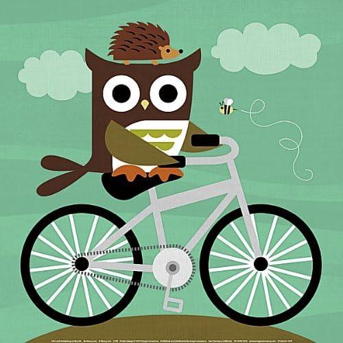Diseño de búho en de erizo para bicicleta de patrones de costura ...