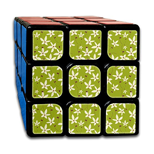 3x3x3 Puzzle Cube Floral Abstract Pattern Ultra-smooth Brain Game Puzzle Toys Rubik's Cube For Adults Kids Anti Stress Anti-Anxiety