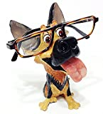 German Shepard Dog Breed Novelty Eyeglass Holder Stand