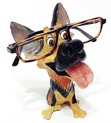 German Shepard Dog Breed Novelty Eyeglass Holder - German Eyeglasses