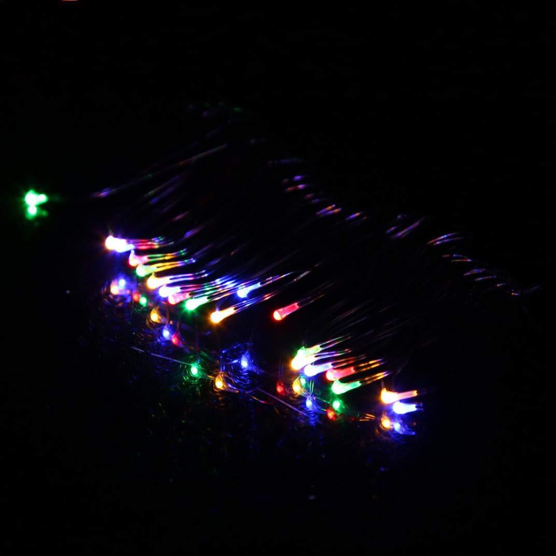 Blau Lichterkette,FeiliandaJJ 2M 20pc Faltbarer Kupferdraht LED Licht Hochzeit Party Weihnachten Halloween Innen//Au/ßen Haus Deko String Lights 2X CR2032 Batterien