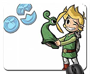 Toon Link getting yelled at Mouse Pad, Mousepad (10.2 x 8.3 x 0.12 inches)