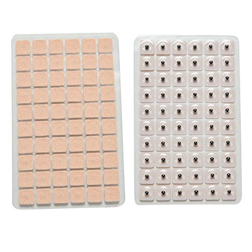 Generic 600Pcs/Lot Acupuncture Needle Ear Seeds Seeds Ear Massage Paste Ear Stickers Auricular Ear Press Seed Ht0065