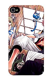 New The Fairy Tail Hot Anime Pictures Tpu Case Cover, Anti-scratch DhPDdGO102BjBQt Phone Case For Iphone 4/4s