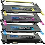 4 Replacement toner cartridges for Dell 1230c Toner Cartridges BK/C/M/Y replacement for Dell 1230c 1235 Combo Pack, Office Central