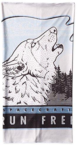 Spacecraft Wild Things Gaiter, Wolf, One Size