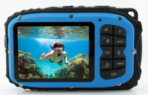 Coleman Xtreme C5WP 16.0 MP 33ft Waterproof Digital Camera, Blue by Coleman (Image #1)