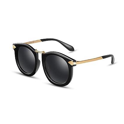 YQ QY Gafas De Sol Gafas Polarizadas Retro Gafas De Montura Grande Protección UV Diseño De