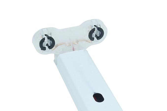 Plafoniere Neon 150 Cm : Plafoniera neon led t8 doppia attacco reglette supporto tubo 150cm 2