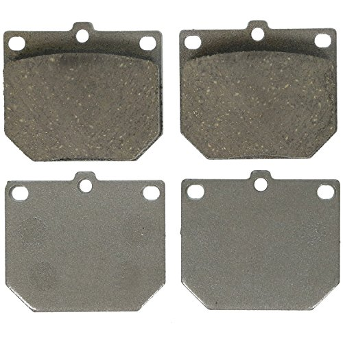 - Wagner ThermoQuiet PD161 Ceramic Disc Pad Set, Front